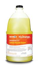 Envirox H2 Orange2 Concentrate 117, Oxidizing Multi-Purpose Sanitizer (1 Gallon)