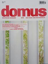 domus Deutsche Ausgabe Mai/Juni 2016 Nr.019 die Stadt und der Mensch  ungel. 1A
