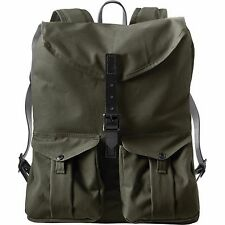 NEW! FILSON HARVEY BACKPACK - OTTER GREEN-MAGNUM BLACK #70199 EXPEDITED SHIP!