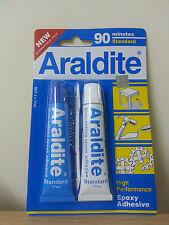 Araldite AB Epoxy Adhesive glue 90 minutes Standard NEW