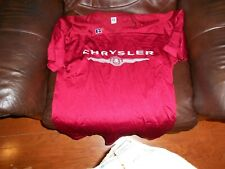 Chrysler red football jersey sz L