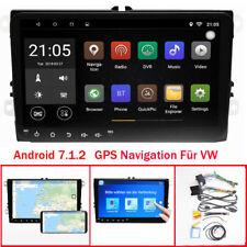 "9""Android GPS Navi Autoradio USB BT MP3 Für VW Touran Eos Caddy Polo Passat Golf"