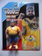 WWF AKEEM RECIO FIGURA EN BLISTER HASBRO MB ESPAÑA 1990
