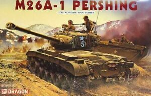 M26A-1 PERSHING Korean war tank 1/35 scale DRAGON