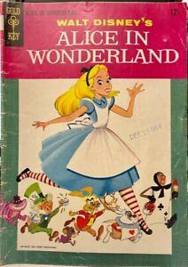 Alice In Wonderland Comic Book - Gold Key 1955 Walt Disney