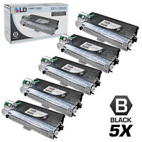 Compatible Sharp AL100TD Set of 5 Black Laser Toner Cartridges