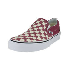 d286776ef457 VANS Classic Slip-on Checkerboard Dry Rose White VN0A38F7U7A NWB DS Mens Sz  10.5