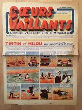 HERGE - TINTIN - COEURS VAILLANTS numéro 48 ( 1er décembre 1940)
