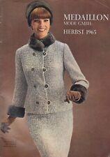 Medaillon Herbst 1965 - Katalog - Exklusive Mode - Selten!