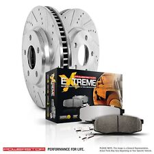 Disc Brake Pad and Rotor Kit-Z36 Truck and Tow Performance Brake Kit Front