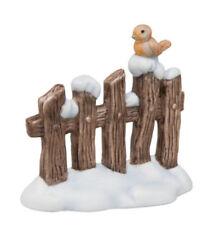 Goebel Nina & Marco Verschneiter Zaun 5 cm Winter Weihnachten Midi Krippe
