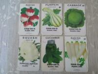 Wholesale Lot of 25 Old Vintage 1940/'s SEED PACKETS Empty Florida WATERMELON
