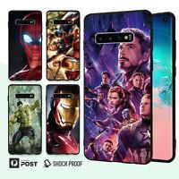 Avengers Slim Bumper Case Cover For Samsung Galaxy S10 e 9 8 Edge Plus Note 014