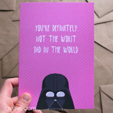 Not the worst Dad in the world. Funny Father's Day Card - Starwars Darth Vader