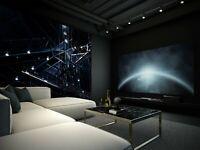 3D Dark Night Light R09 Wallpaper Mural Sefl-adhesive Noirblanc777 Amy