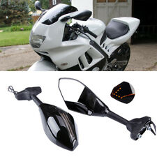 LED Turn Signals Motorcycle Side Mirror For Honda cbr600 F4/F4i 900/929/954rr US