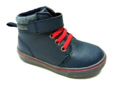 Faded Glory Toddler Boys Blue Lace/Strap Mid-Cut Casual Boots/Shoes: 3-10