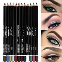 12pcs/Set Waterproof Beauty Makeup Cosmetic Eye Liner Pencil Eyeliner Tool
