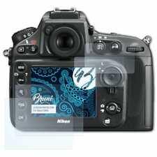 Bruni 2x Schermfolie voor Nikon D800 Screen Protector Displaybeveiliging