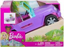 Barbie Dreamhouse Purple Jeep Vehicle NEW
