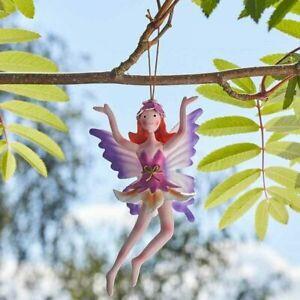 New Hanging Metal Fairy Garden Fairy - Spring Fairy - Rosie -