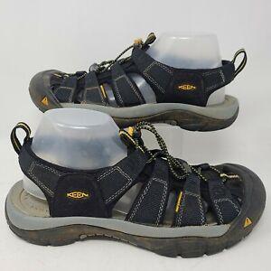 Keen Newport Mens Hiking Sandals Outdoor Sport Shoes Black Waterproof Size 10.5
