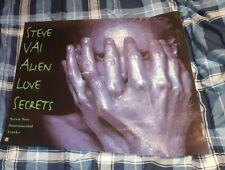 Steve Vai - Alien Love Secrets 1995 Promotional Poster