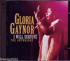 GLORIA GAYNOR I Will Survive Anthology 2CD Classic 70s R&B Disco REACH OUT Rare