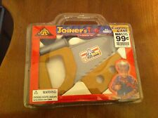 vintage Joiner's Tool Do-It-Yourself toy tool set Saw  Carrying Case Carpenter