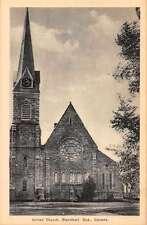 Stanstead Quebec Canada United Church Antique Postcard J66205