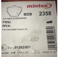 MDB1551 NEW MINTEX FRONT DISC BRAKE PADS SET