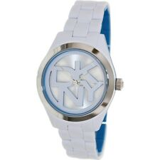 Dkny Women's Two-Tone Plastic Quartz Watch with Silver Dial NY8751