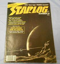 1978 STARLOG #13 Logans Run CLOSE ENCOUNTERS Time Machine VG 4.0