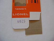 Lionel 6825 Flatcar w/trestle bridge Licensed Reproduction Window Box