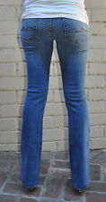 7 For All Mankind Medium New York Double Stitch Bootcut Blue Jeans 27