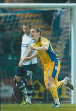 Neil KILKENNY SIGNED COA Autograph 12x8 Photo AFTAL Leeds United Elland Road
