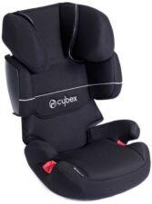 Cybex Silver Solution X-Fix Pure Black Sitzerhöhung Kindersitz Autositz 15-36 Kg