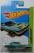 2014 Hot Wheels HW WORKSHOP '69 Mercury Cougar Eliminator Col. #219 (Green)