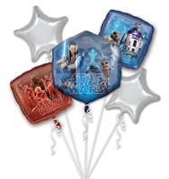 Star Wars THE LAST JEDI 5CT Foil Mylar Balloon Bouquet