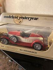 Matchbox Yesteryear Y14-3 1931 Stutz Bearcat -