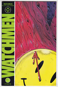 Watchmen #1 Very Fine Plus 8.5 First Issue Alan Moore Dave Gibbons 1986