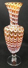 Modernist Studio Glass Vase Drapery