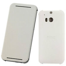 Custodia cover Flip Case BIANCA originale HTC per One M8 sottile libretto V941