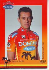 CYCLISME carte cycliste RUGGERO BORGHI  équipe DOMINA VACANZE 2005