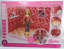 BARBIE FASHION FEVER BUILD A ROOM KIT - NRFB UNOPENED BOX