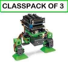 ( 3 PACK) Velleman VR204 ALLBOT® 2 Legged Expandable ARDUINO PROGRAMMABLE Robot