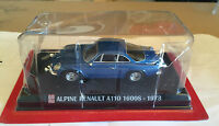 "DIE CAST ""  ALPINE RENAULT A110 1600S - 1973 "" SCALA 1/43 AUTO PLUS + BOX 1"