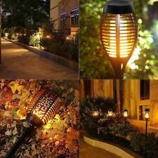 12 LED Flickering Flame Solar Path Garden Lights Solar Light Outdoor Waterproof