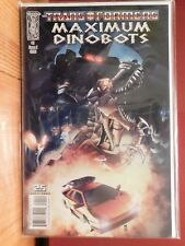 TRANSFORMERS MAXIMUM DINOBOTS, ISSUE #5 COVER A, NEAR MINT, 2008
