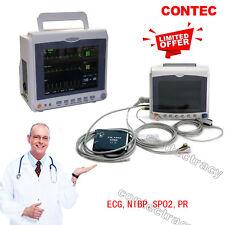 CONTEC Multiparameter ICU/CCU Patient Monitor,ECG+NIBP+Pulse Rate+SPO2,TEMP